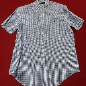 Men's Shirt sleeve Ralph Lauren Button up